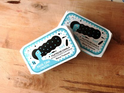 FRU Miss Can Creative | Filetes de Cavala em Azeite Picante com Pickles