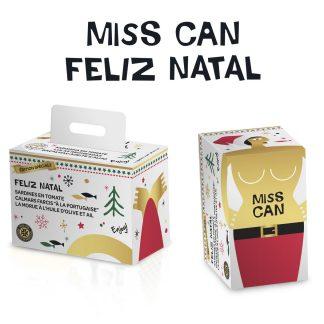FRU Miss Can Feliz Natal | Edição Especial 3 Latas: Sardinhas